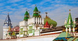 Fototapeta Kremlin in Izmailovo in Moscow sample of  Russian architecture