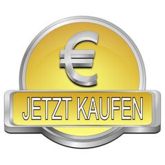 jetzt kaufen Button mit Euro Symbol