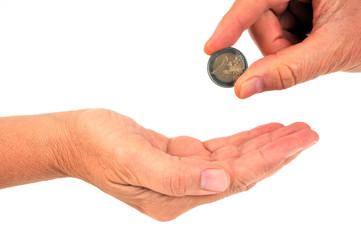 Don de deux euros