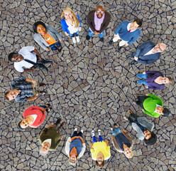 Diversity Group Business People Community Team Concept