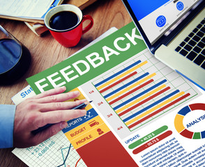 Feedback Satisfaction Information Business Working Concept