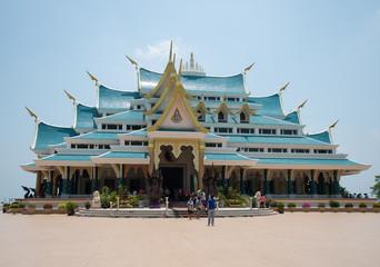 Wat PA POO KON, UDONTHANI, temple Thailand.