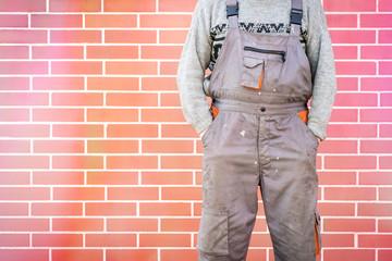 Anonymous handyman, DIY concept