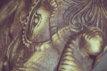Retro Netsuke Elephant