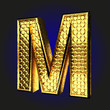 m golden letter