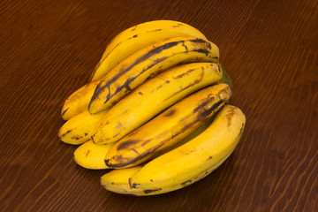 Bunch of canary bananas