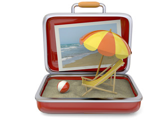 Summer in a Suitcase - 3D