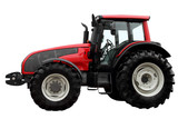 Modern heavy tractor.