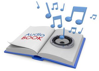 Audiobooks Concept -3D