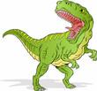Angry T-Rex Dinosaur - 81863483