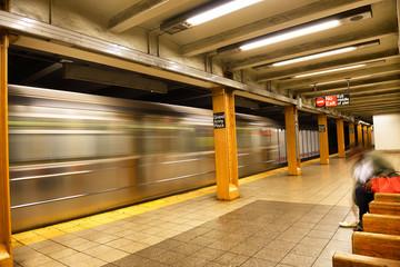 Subway station, New York City