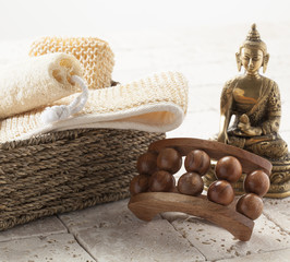 bath and friction with zen massage