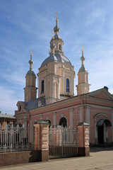 ST. PETERSBURG, RUSSIA - MARCH 18: St. Andrew's Cathedral - Orth