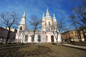 St. Andrew's Cathedral - Orthodox Cathedral on Vasilevsky island