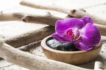 natural elements for beauty spa treatment