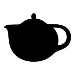 Kaffeekanne Teekanne Silhouette
