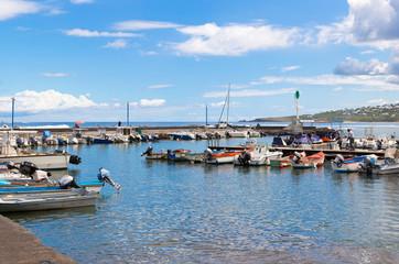 port de pêche, Saint-Leu, île de la Réunion