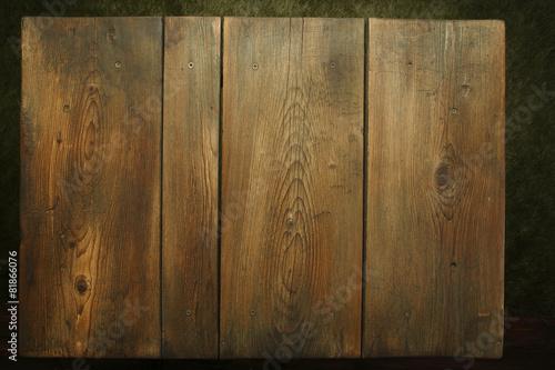 Fotobehang Picknick Picnic table