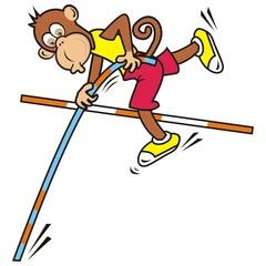 monkey,high jump
