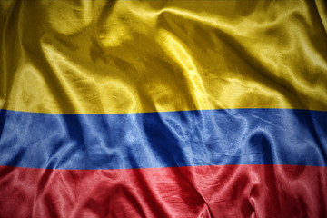 shining colombian flag
