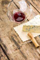 Restaurant menu background. blue cheese