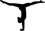 Fototapety Gymnastics Girl