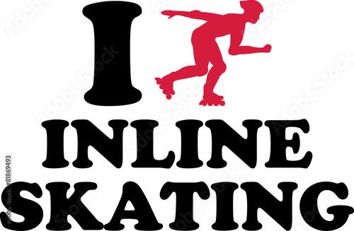 I heart Inline Skating - 81869493