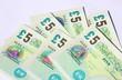 billet de 5,livre sterling ,argent,anglais - 81869820