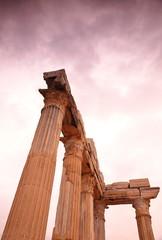 Columns-Licia coast-Turkey
