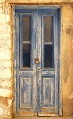 Vintage door-Kastellorizo-Greece