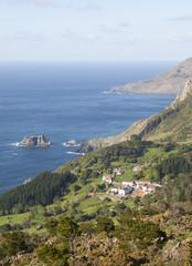 View of San Andres de Teixido