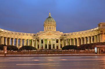 Санкт-Петербург, Казанский собор на рассвете