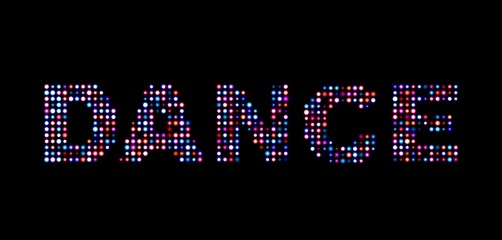 Dance led text
