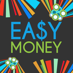 Easy Money Dark Colorful Elements