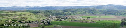 Leinwandbild Motiv printemps dans la vallée