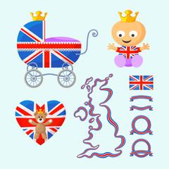 English Royal Baby Set