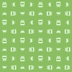 Car and truck. Seamless pattern. Eps8 vector illustration