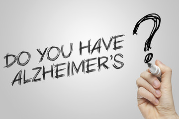 Hand writing do you have alzheimers