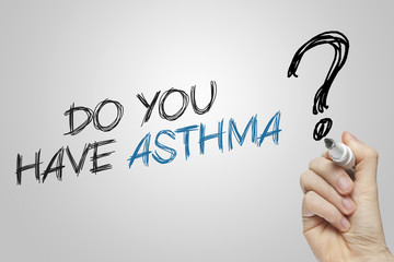 Hand writing do you have asthma