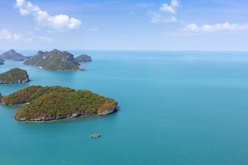 islands Thailand bird's-eye view