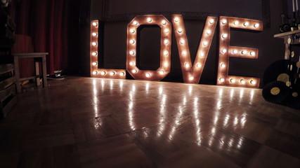 Inscription Burning Love