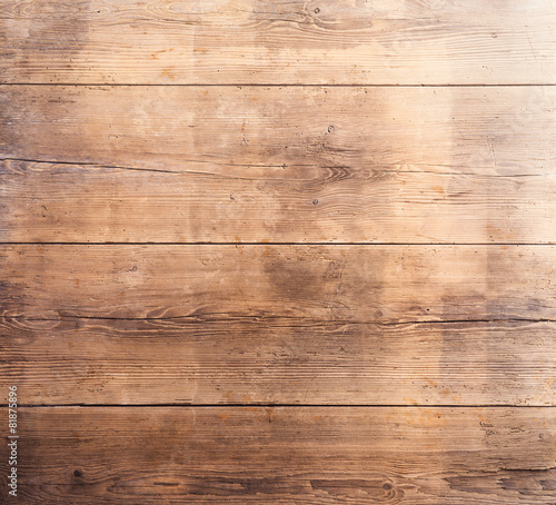 Wooden boards with texture as clear backgrounds - 81875896