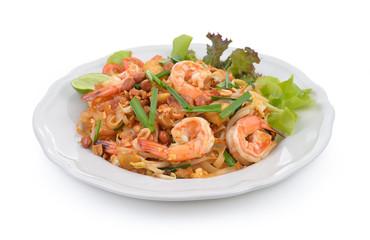 Thai style noodles or padthai