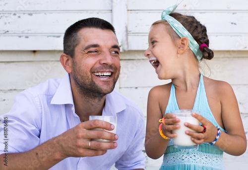 Leinwandbild Motiv Family concept