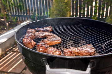healthy meat bbq