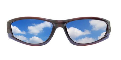 sunglass and clouds