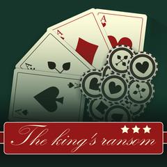 Casino card design-vintage-elegant-poker-casino-vip-ace