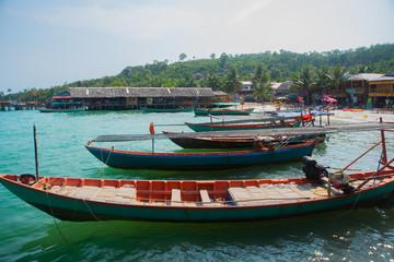 Sea and Islands in Cambodia.