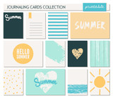 Fototapety Greeting Card Templates Collection