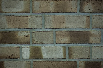 texture brick wall made of light beige